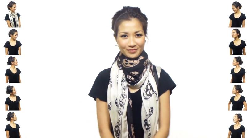 25 бързи начина за връзване на шал