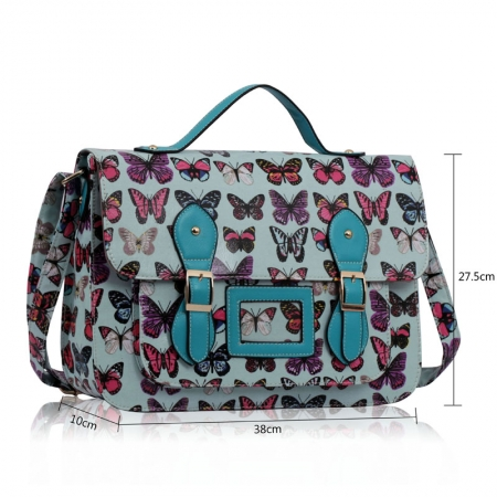 Дамска чанта Adona, Polly, Синя