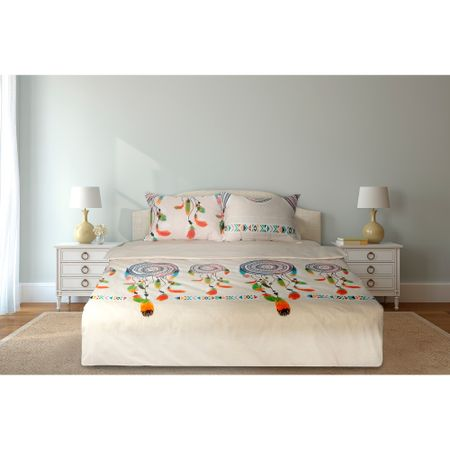 Спален комплект Heinner Home, Памук, 4 части, 144TC, Indian