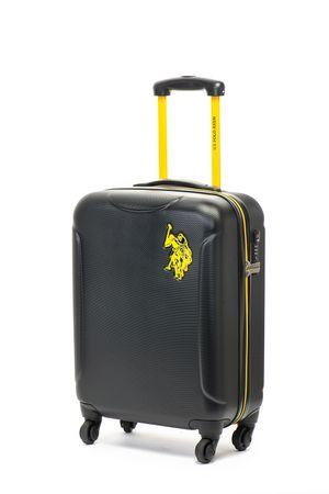 U.S. Polo Assn., Унисекс куфар New Leader, Черен