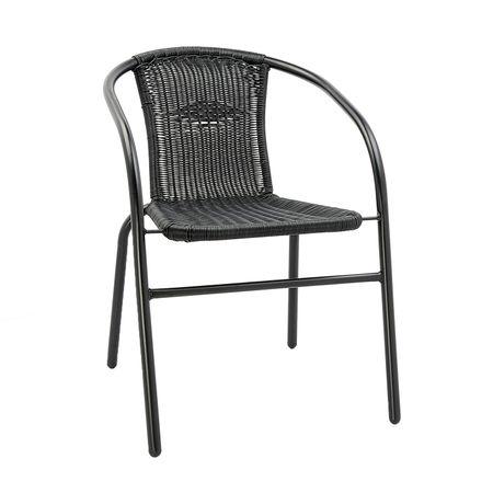 Стол Kring Paris Bistro, Черен, 53 x 65 x 72 см
