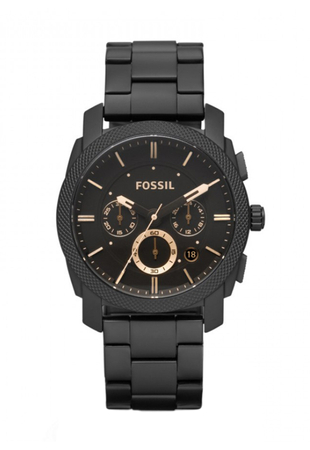 Fossil, Часовник с верижка от неръждаема стомана