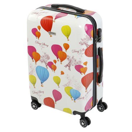 Куфар KRING Balloons, ABS+PC, 55 см, White