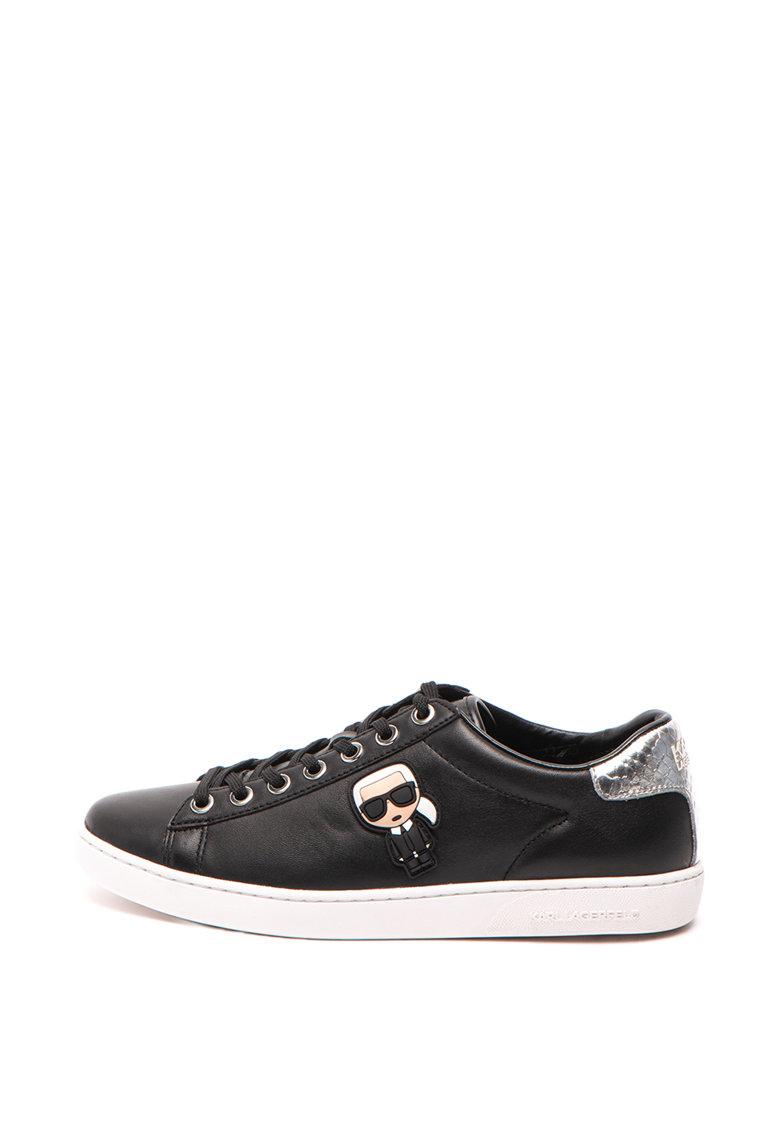 Karl Lagerfeld Кожени спортни обувки Kupsole II Iconic Lo