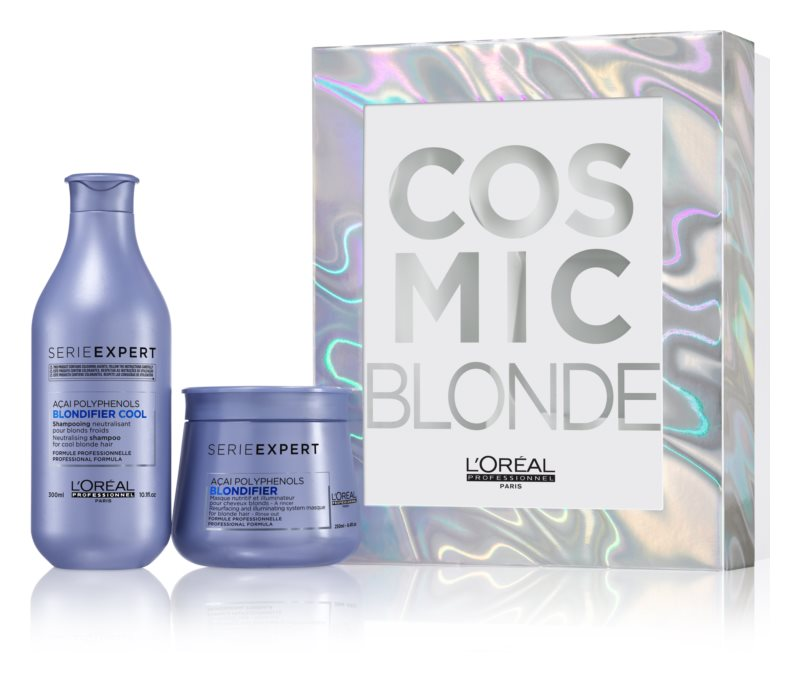 L'Oréal Professionnel Serie Expert Blondifier подаръчен комплект I. (за руса коса)