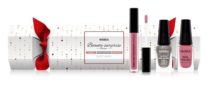NOBEA Beauty Surprise Christmas Cracker Nude козметичен комплект за жени