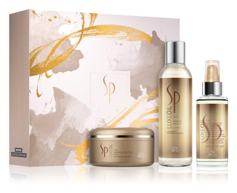 Wella Professionals SP Luxe Oil козметичен пакет(за увредена коса)