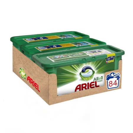 Капсули Ariel All in One PODS Mountain Spring, 84 изпирания