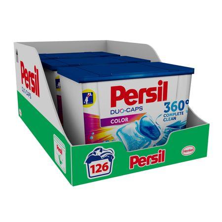 Капсули за пране Persil Duo-Caps color, 126 изпирания, 3x42 изпирания