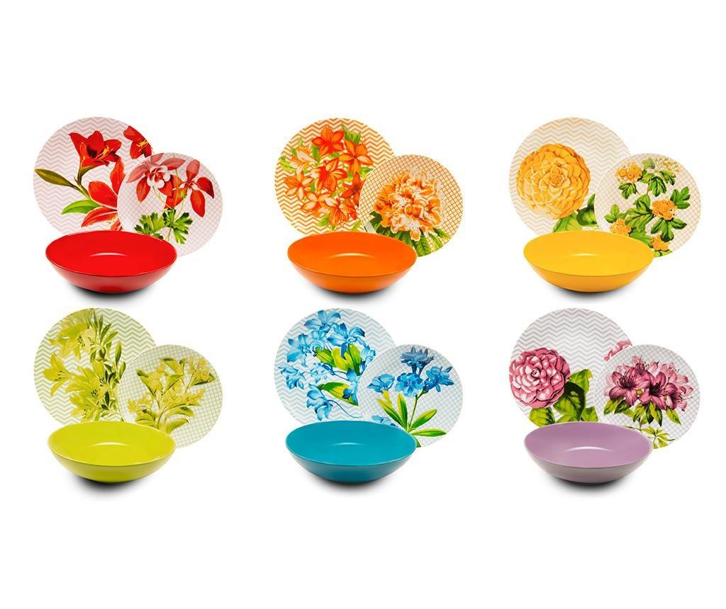 Сервиз за хранене 18 части Floral