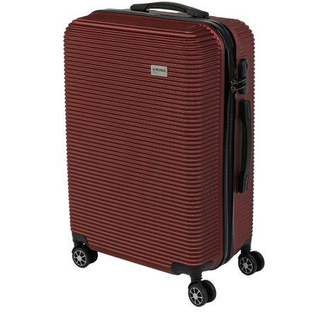 Куфар KRING La Paz, ABS, 55 см, Burgundy