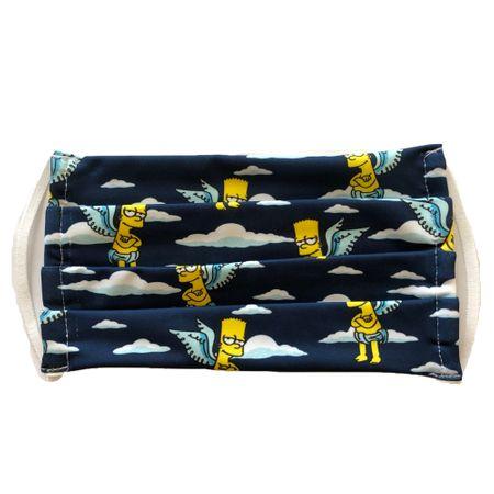 Детска Хигиенна маска, за многократна употреба, Simpsons,100%памук/полиамид