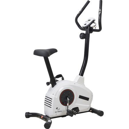 Велоергометър Karl Sports, Маховик 5 кг, Бял/Черен