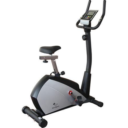 Велоергометър Karl Sports, Маховик 6 кг, Максимално допустимо тегло 120 кг, Черен/Сребрист