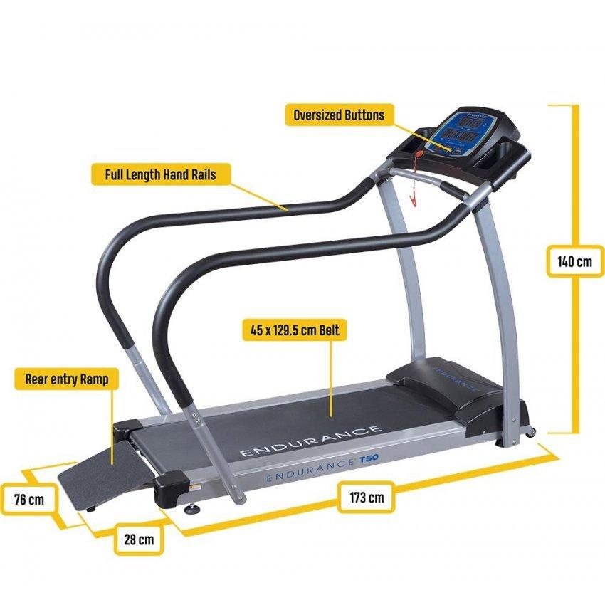 Бягаща пътека Body-Solid Endurance T50