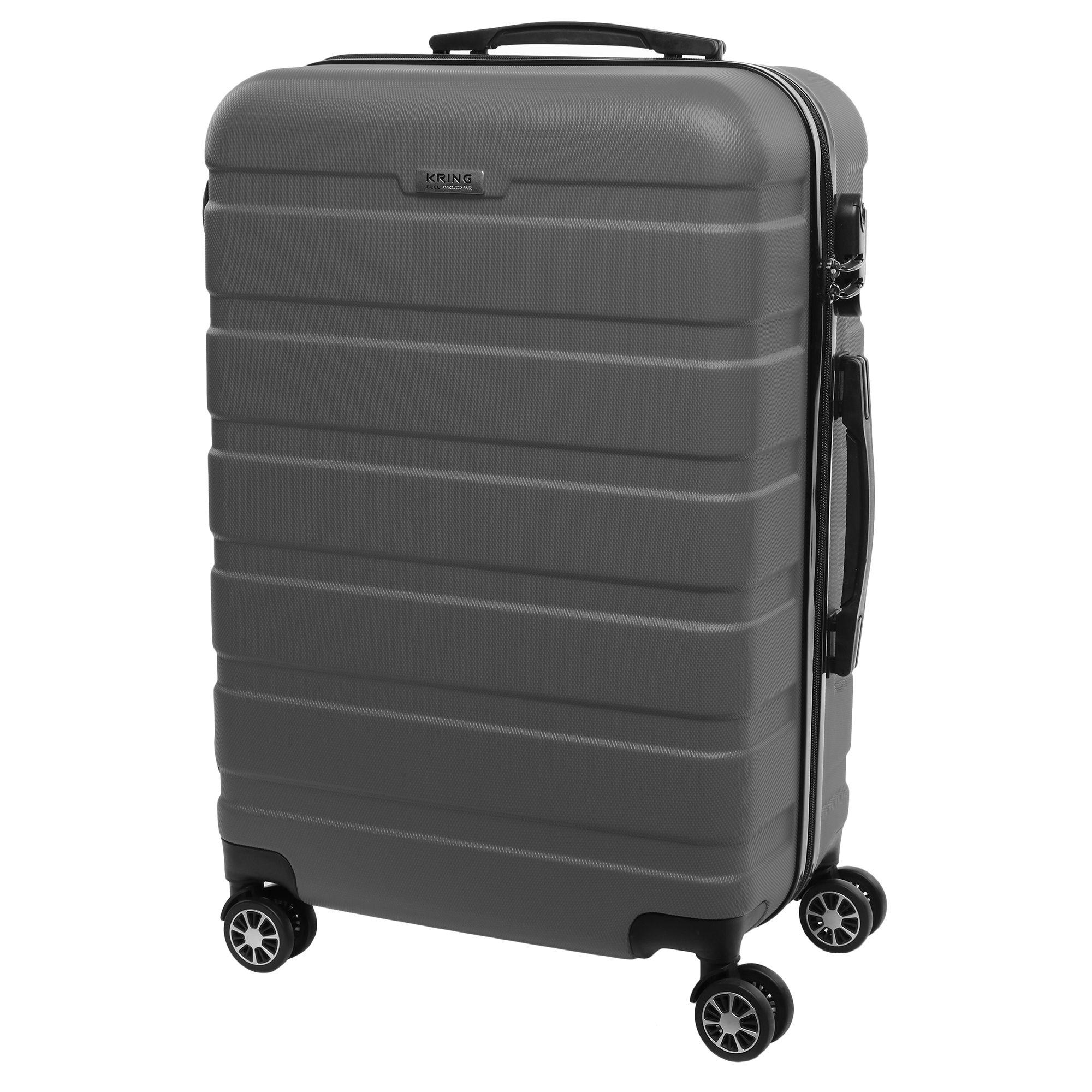 Куфар Kring Ethiopia ABS, 65 см, Сив