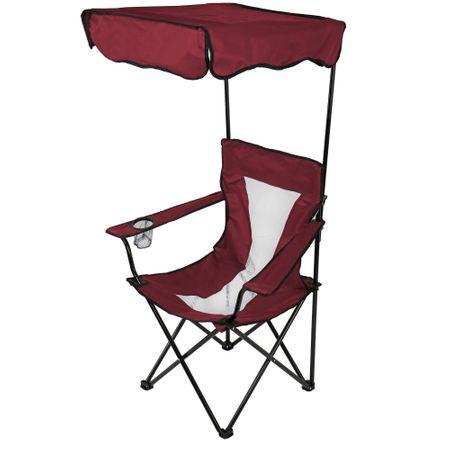 Стол Kring Easy, Сгъваем 53x53x80/127 см, Червен