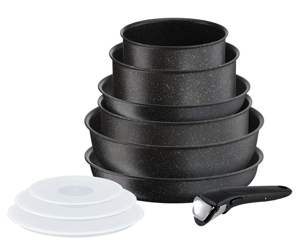 Комплект съдове за готвене 10 части Tefal Ingenio Authentic