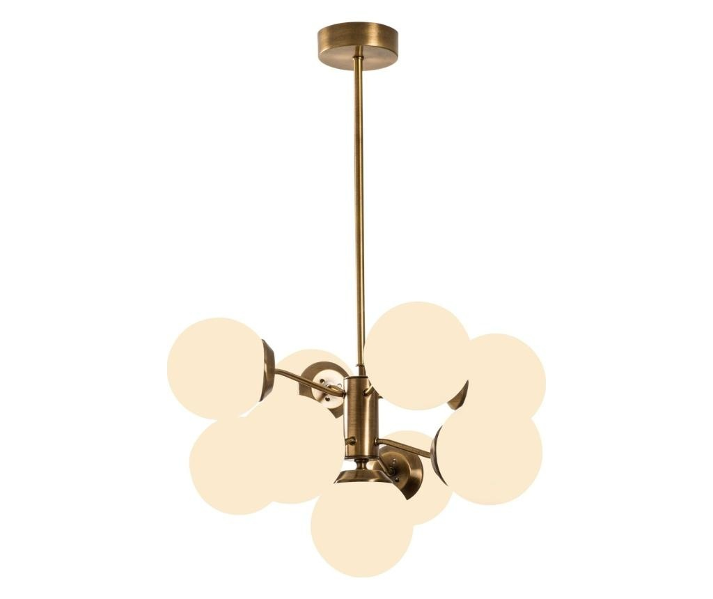 Лампа за таван Mudoni Nine Vintage White Round