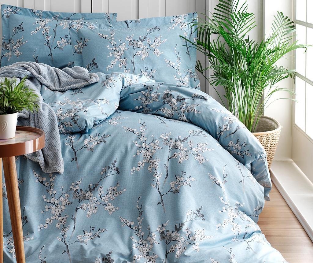 Спално бельо King Ranforce Chicory Blue