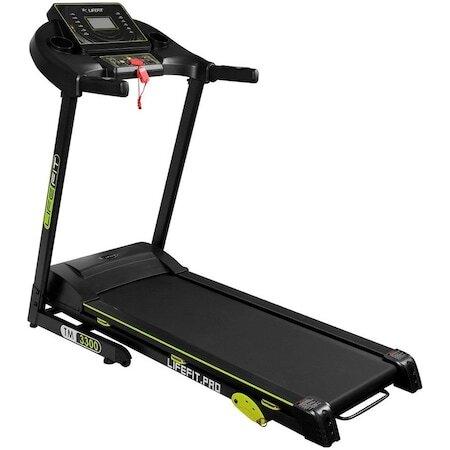 Бягаща пътека Lifefit 3300, Мотор 1.5 к.с., 0.8-17км/ч, Максимално поддържано тегло 120 кг