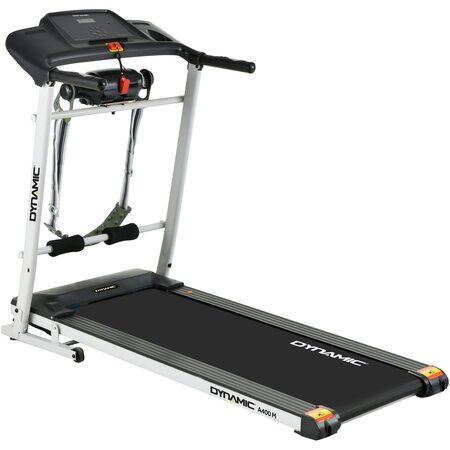 Бягаща пътека Dynamic A400, 2 HP, Максимална скорост 12 км/ч, С устройство за масаж